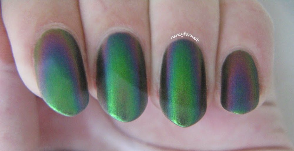 ILNP- I Love Nail Polish Mutagen Swatches Underwater   Nerdy For ...