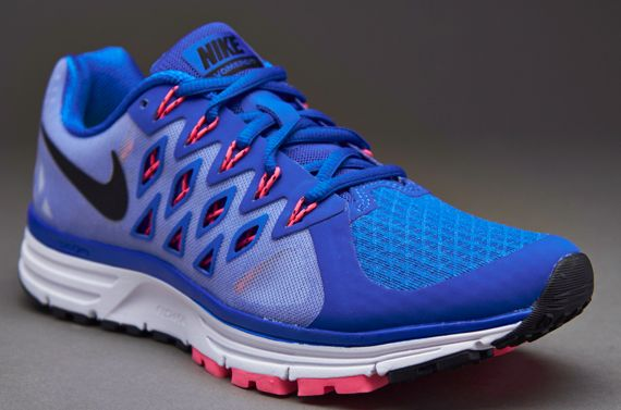 BlueParticle Rose Nike Womens Zoom Vomero 9  Lyon BlueBlackWhitePink  Powder