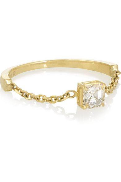 Anita Ko | 18-karat gold diamond ring | NET-A-PORTER.COM - http://www.net-a-porter.com/us/en/product/628748/Anita_Ko/18-karat-gold-diamond-ring