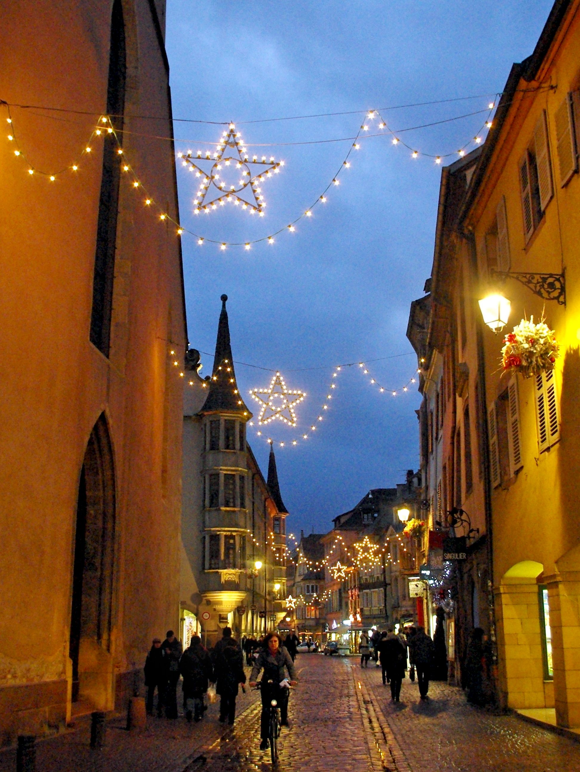 Great news! The Christmas market of Colmar opens today!! 🎄  #Colmar #VisitColmar #VisitAlsace