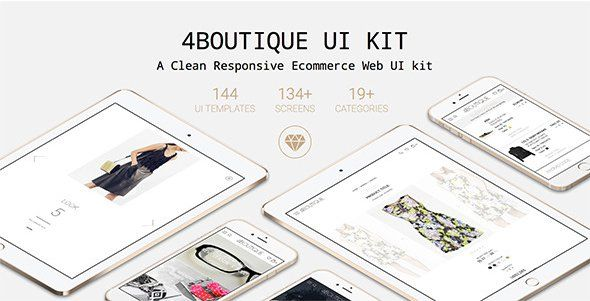 4Boutique---A-Responsive-Ecommerce-Web-UI-KIT - Love a good success story? Learn how I went from zero to 1 million in sales in 5 months with an e-commerce store.