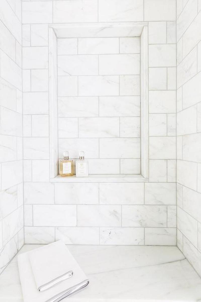 Thassos White Marble Polished 12x24 Shower Whitemarbleflooring Thassos White Marble Polished 12x24 Shower Port Marmor Polieren Marmor Duschen Dusche Fliesen