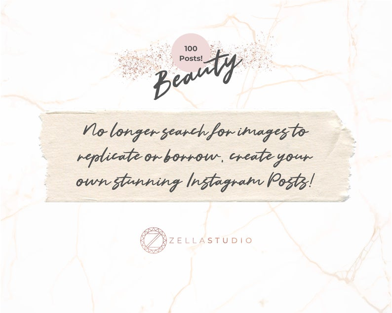 100 Pink Lash Artists Instagram Bundle Ready Made Quotes