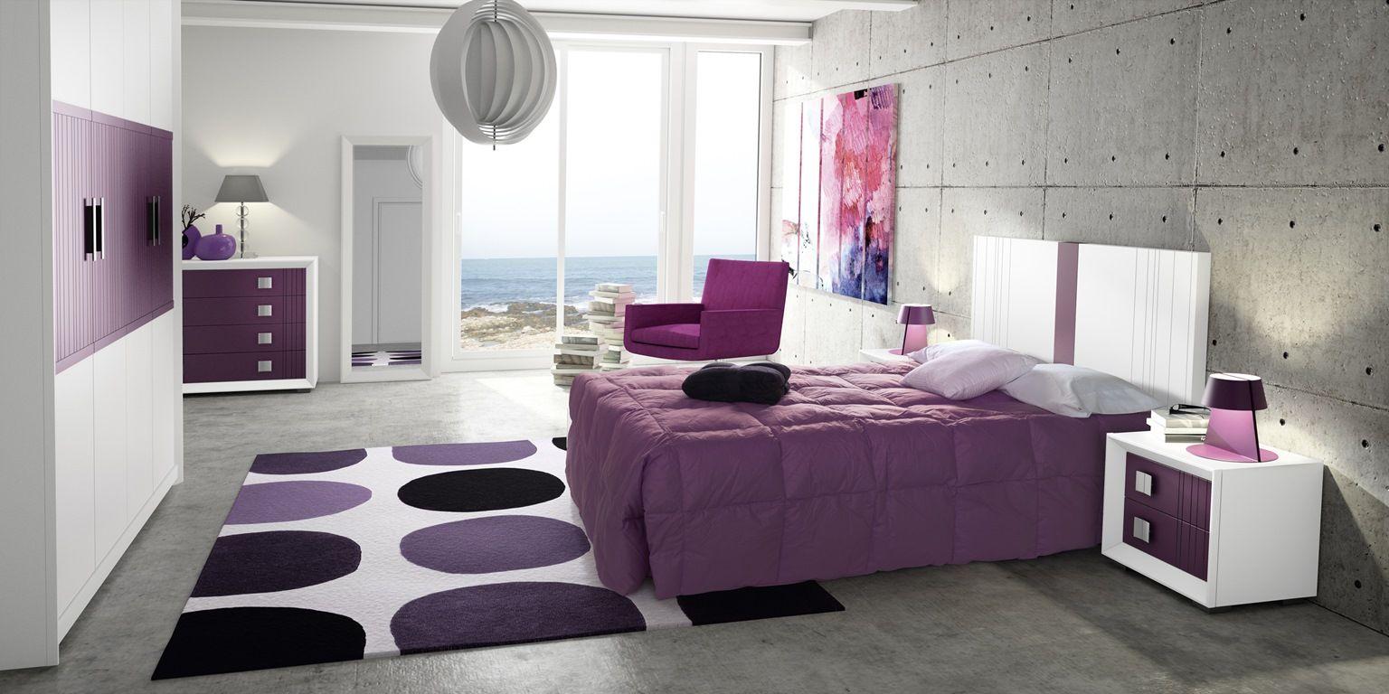Dormitorio Beige Y Gris Y Lila Dormitorios Modernos Muebles Dormitorio Dormitorios