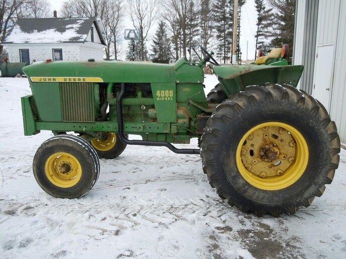 Low Profile JOHN DEERE 4000 | John Deere | Tractors, John deere