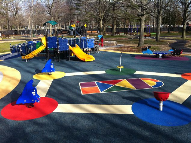 Eisenhower Park Let All The Children Play With Images Playground