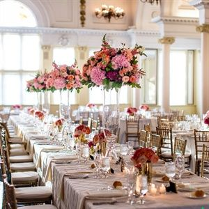 Elegant Formal Reception Decor