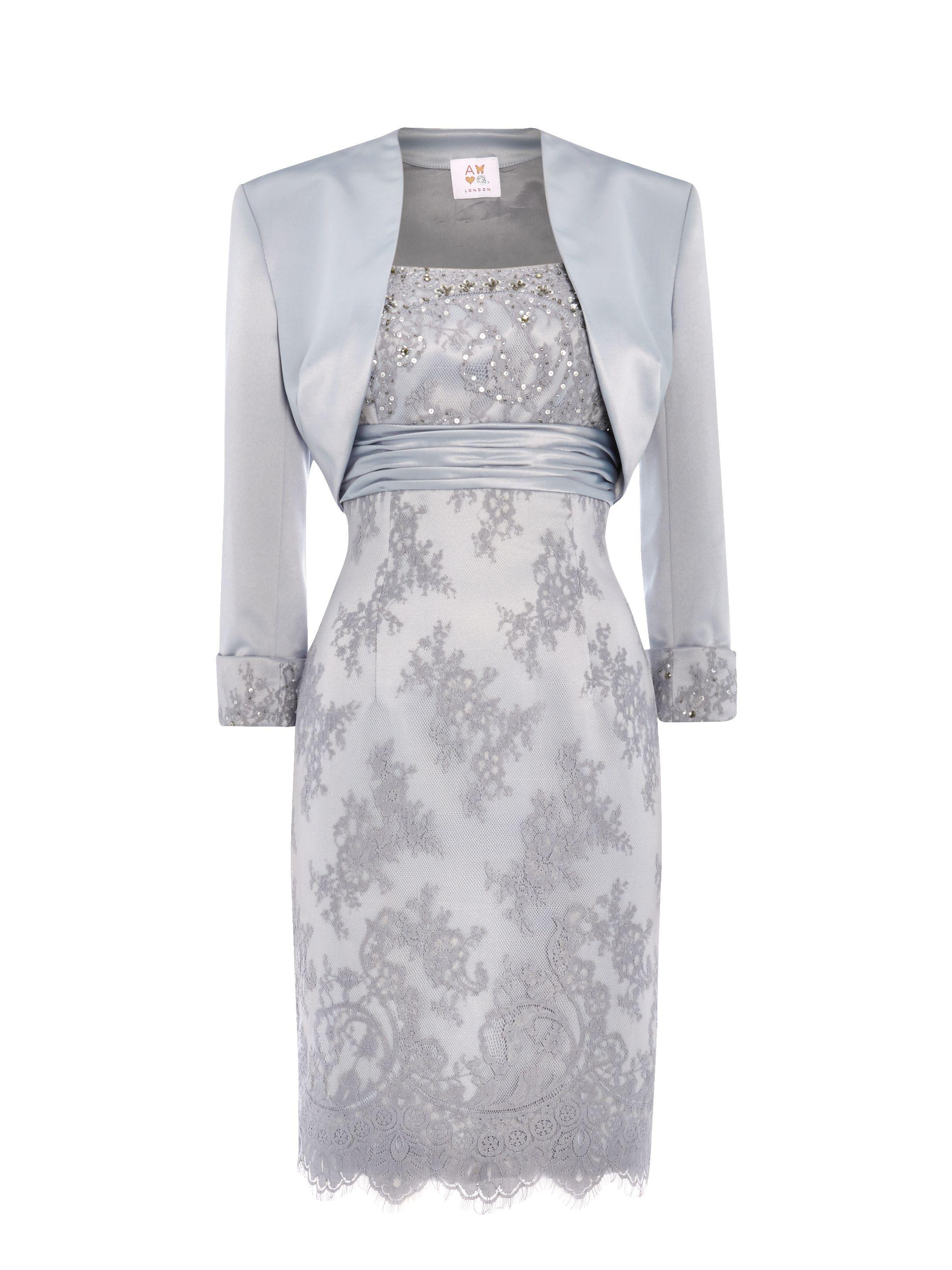 Platinum Mother of the Bride Dresses