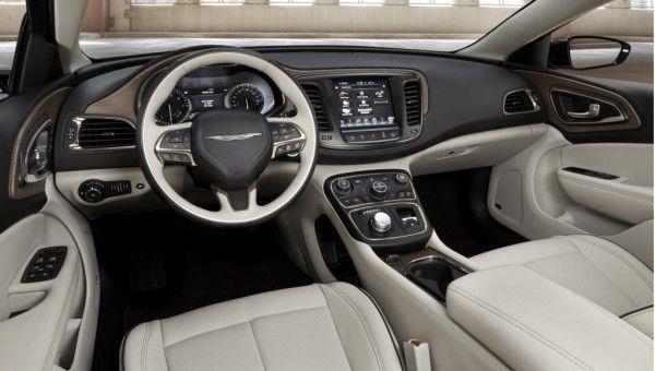 Chrysler 200 Reviews >> 2015 Chrysler 200 Dashboard Interior 600x340 2015 Chrysler