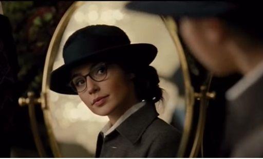 Gal Gadot as Wonder Woman, taken from TV spot online