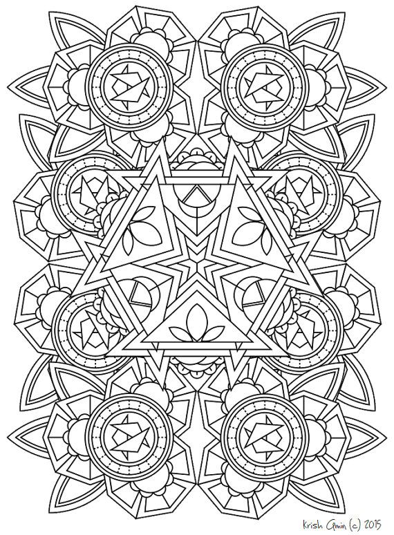 135 printable intricate mandala coloring pages instant download pdf mandala doodling page