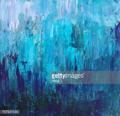 0fe7d9556be9c Acrylic Painted Abstract Background in Blue | Painting | Abstract ...