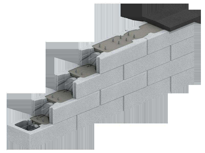 Schalungssteine Jasto De Stutzmauer Garten Stutzmauer Steine Mauer Bauen