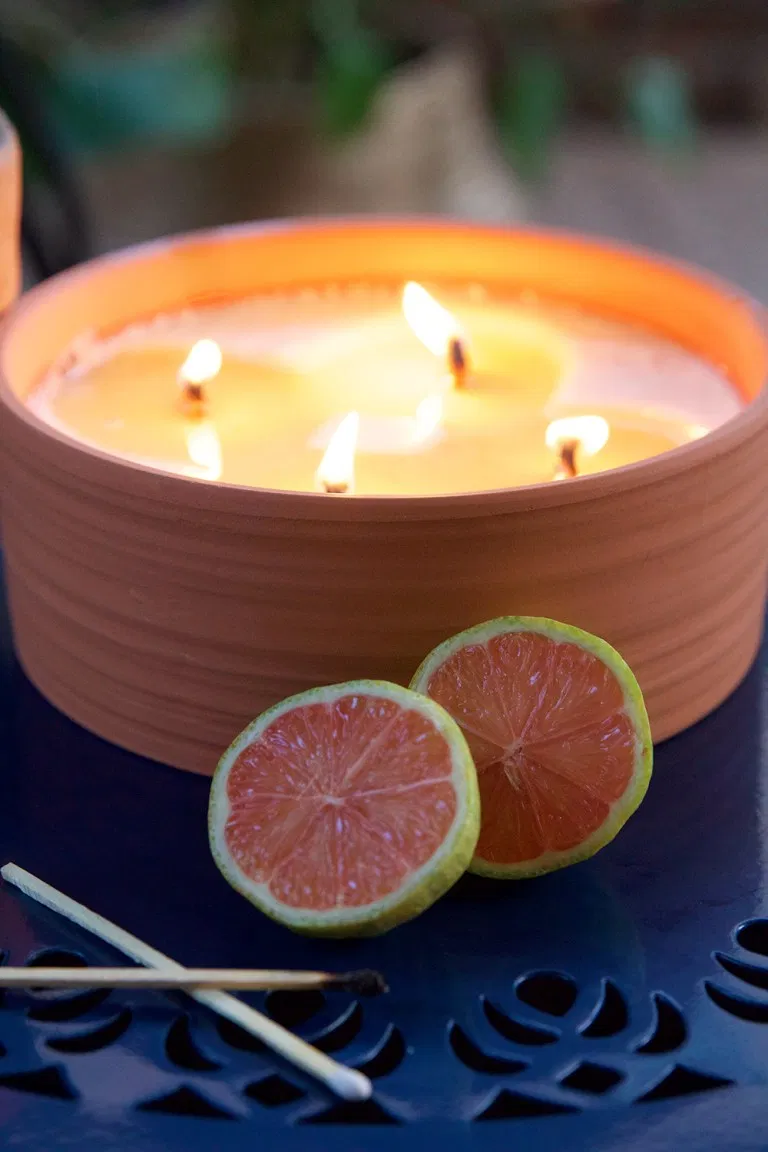 How To Make A Natural Citronella Candle Citronella Candles