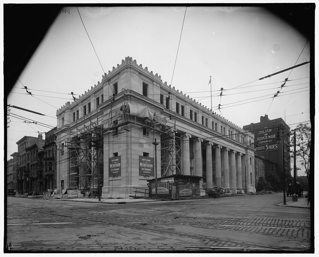 Old time cincy the western southern life insurance for Insurance for home under construction