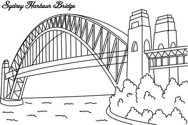 Australia Day Sydney Harbour Bridge One Of Australia Icon On