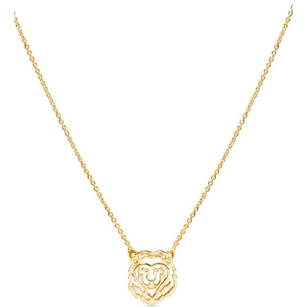 1e1bfe32de8f53 Maria Pascual Lion Necklace ($41) ❤ liked on Polyvore featuring jewelry,  necklaces, metallic, wrap necklace, metallic jewelry, chain jewelry, lion  jewelry ...
