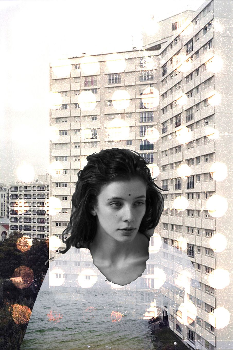 Mona collage for Rêver Magazine - bundenko photography