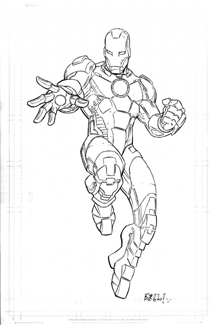 Iron Man By Bobbett Deviantart Com On Deviantart Tattoo Drawings Iron Man Drawing Drawing Superheroes Marvel Drawings