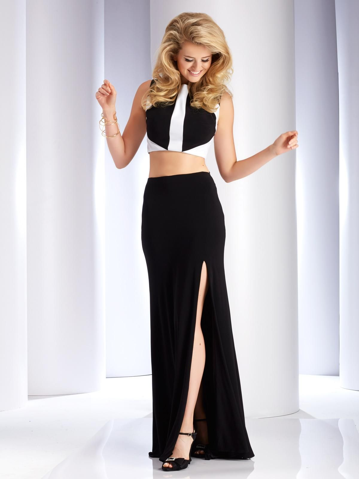 2771/ Black & White/ Sizes 00-14/ Available at TT New York in the ...