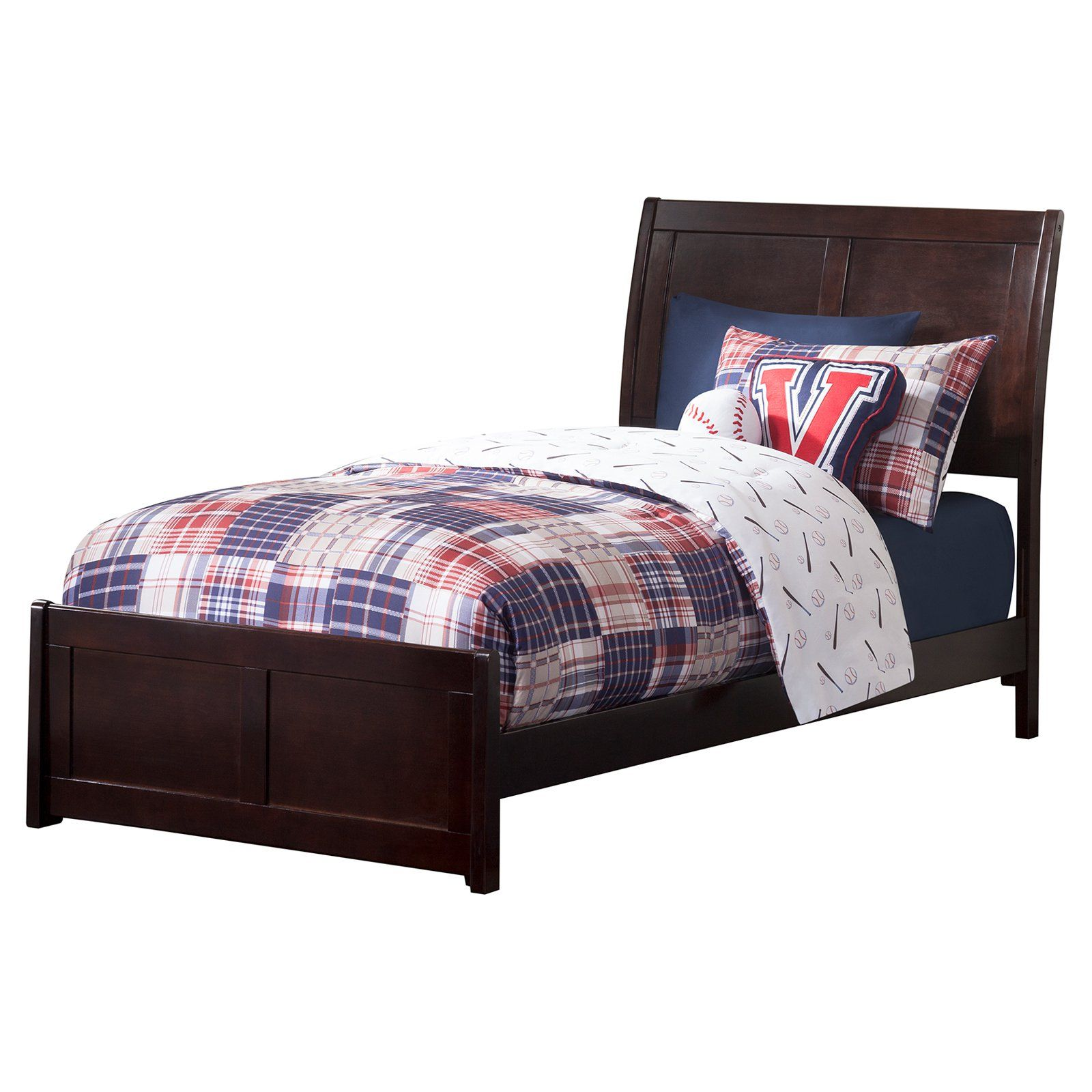 Atlantic Furniture Portland Traditional Bed With Matching Foot
