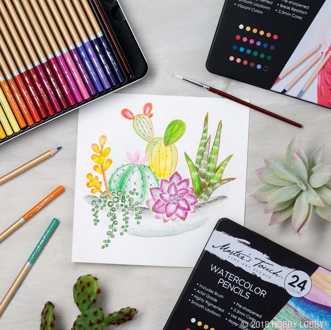 Get Creative With Master S Touch Watercolor Pencils Intensely