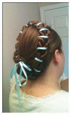 Renaissance Hairstyle Renaissance Hairstyles Historical Hairstyles Hair Tape