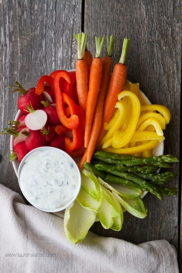 High Protein Ranch Dip & Dressing | Recipe | Ranch dip ...