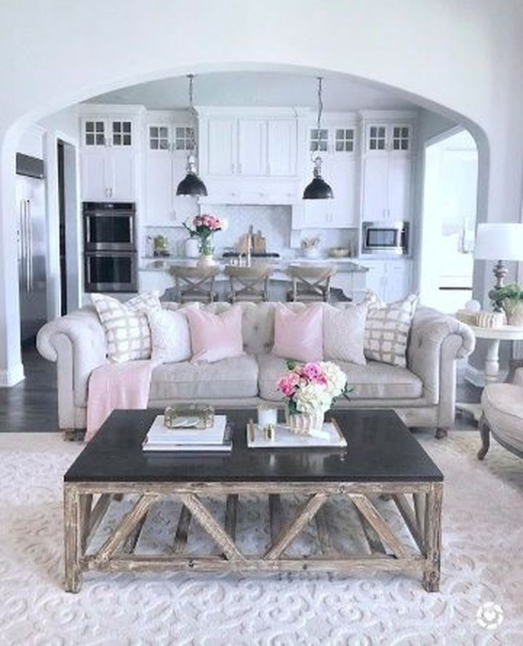 Nice wonderful design valentines living room more at https trend homy also our light brick archway in the kitchen  hearth gorgeous rh pinterest