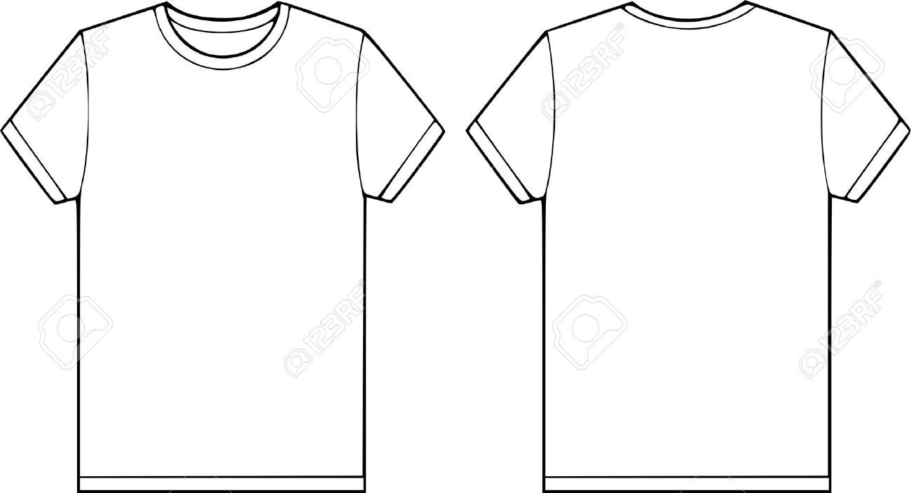 Black t shirt vector photoshop - T T Shirt Vector Silhouettes