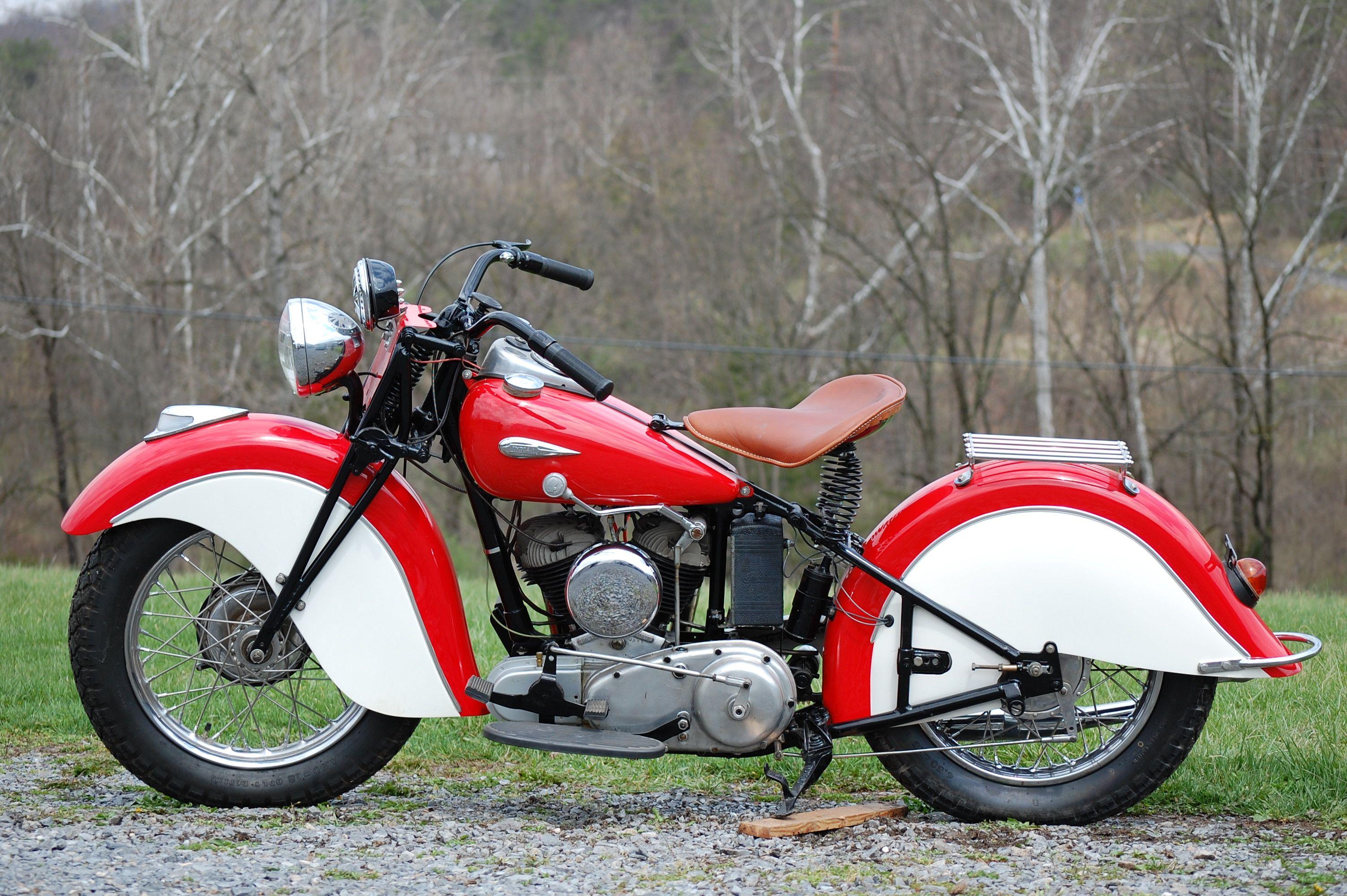 1936 1940 Conversion Indian Sport Scout 45 Cu In 750 Cc