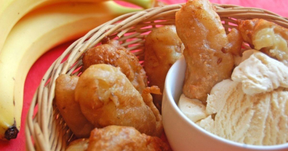 chinese banana fritters banana fritters vegan desserts fritter recipes pinterest