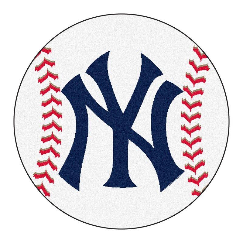 New York Yankees 27 Baseball Mat In 2020 New York Yankees Logo Yankees Logo New York Yankees Baseball