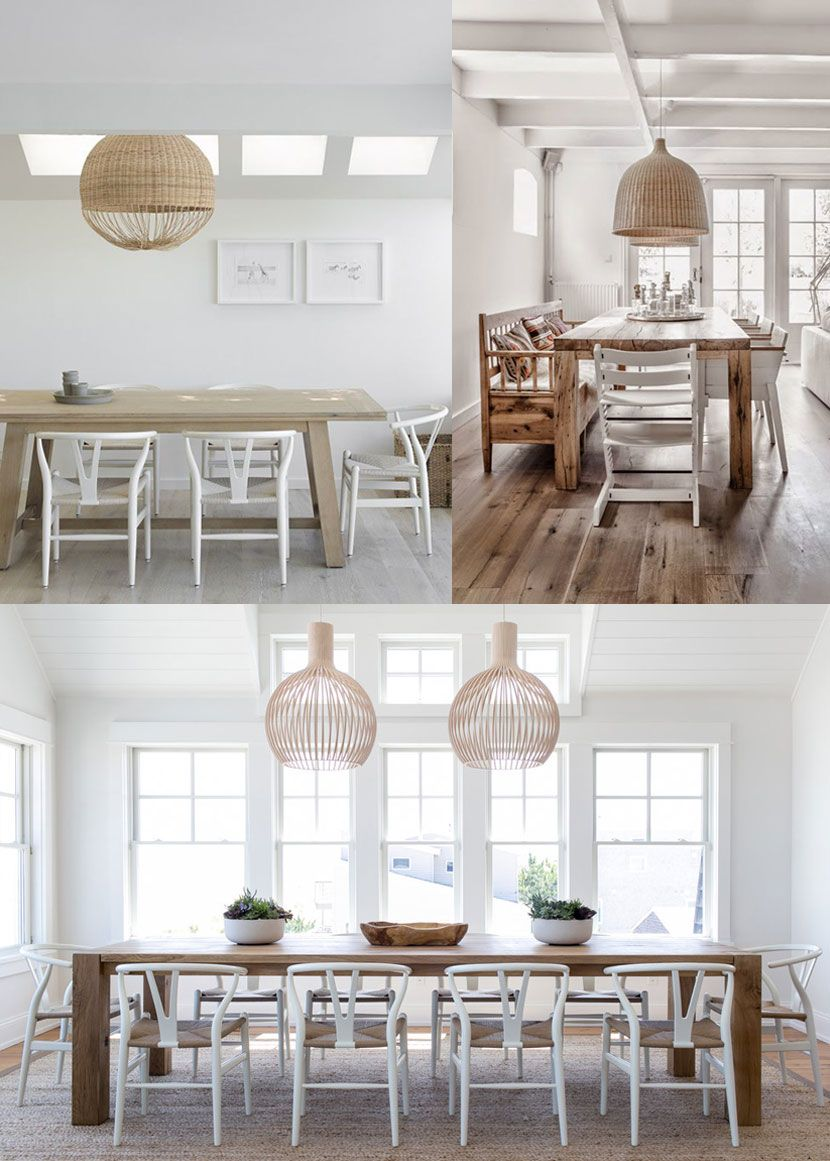 A Scandinavian Farmhouse Style Dining Space That Is Simple And Modern See Farmhouse Style Kitchen Cabinets Farmhouse Style Furniture Farmhouse Style Bedrooms