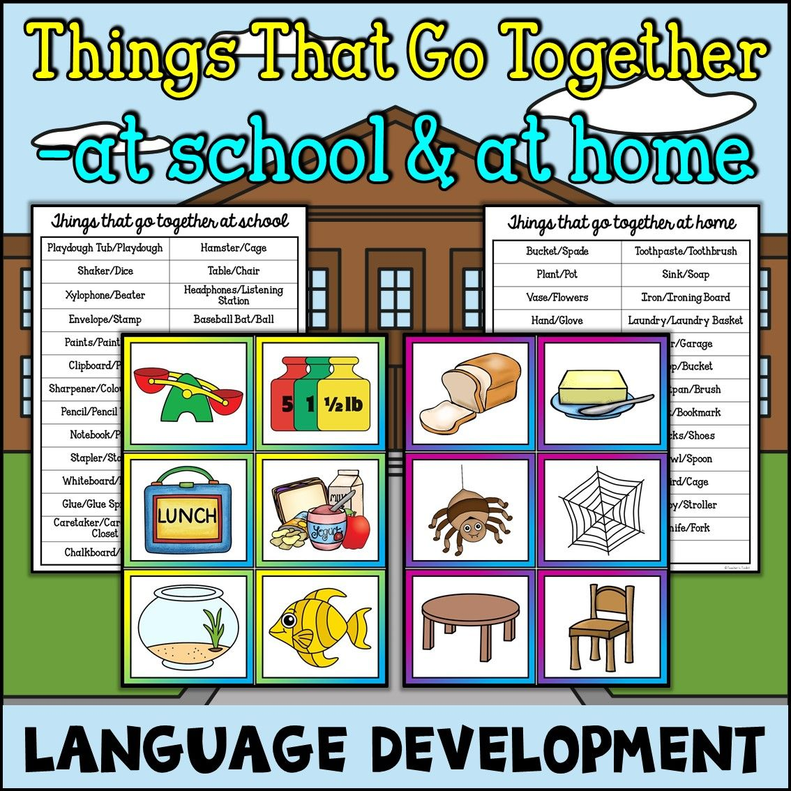 Things That Go Together At Home At School