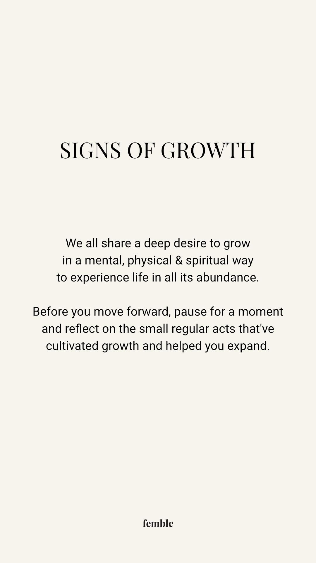 sustainable methods of personal growth