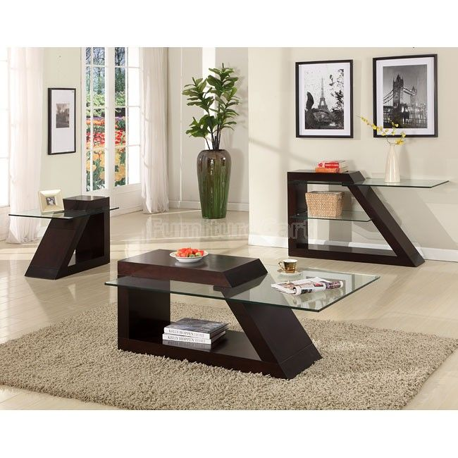 Jensen Occasional Table Set Coffee Table Coffee Table Setting Modern Sofa Table