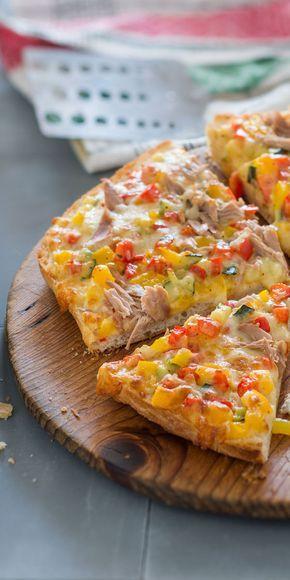 Photo of Fladenbrotpizza mit Thunfisch   maggi.de