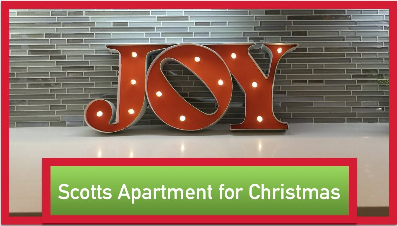 DIY Christmas Decorating Ideas for a Small Apartment!