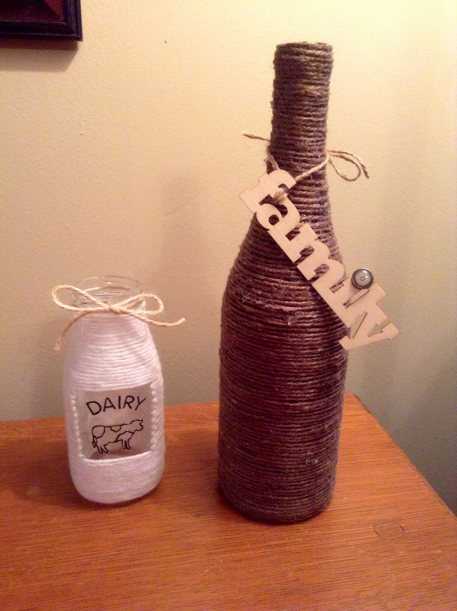 Decorate A Bottle Reuse Wine Bottles Or Any Glass Jar Or Bottle For A Gift Or To