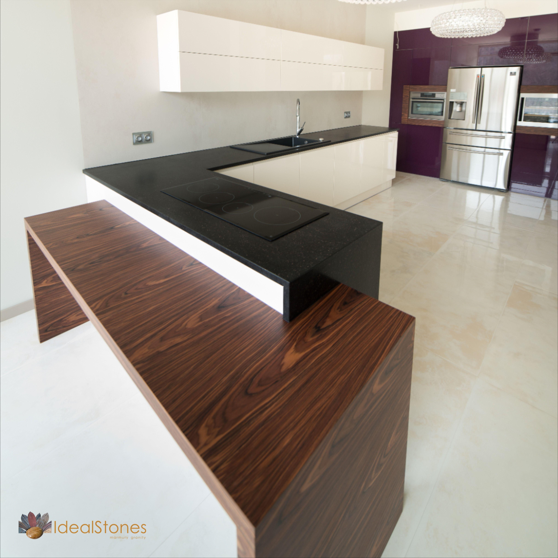 Blat Granitowy Czarny Z Kamienia Naturalnego Do Kuchni I Posadzka Marmurowa Z Bezowego Kamienia Home Decor Kitchen Decor