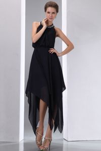 Handkerchief Hem Formal Dresses