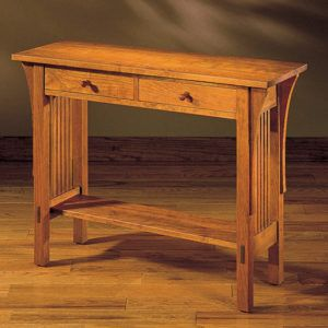 Stickley Mission Console Table httpbenchforuminfo Pinterest