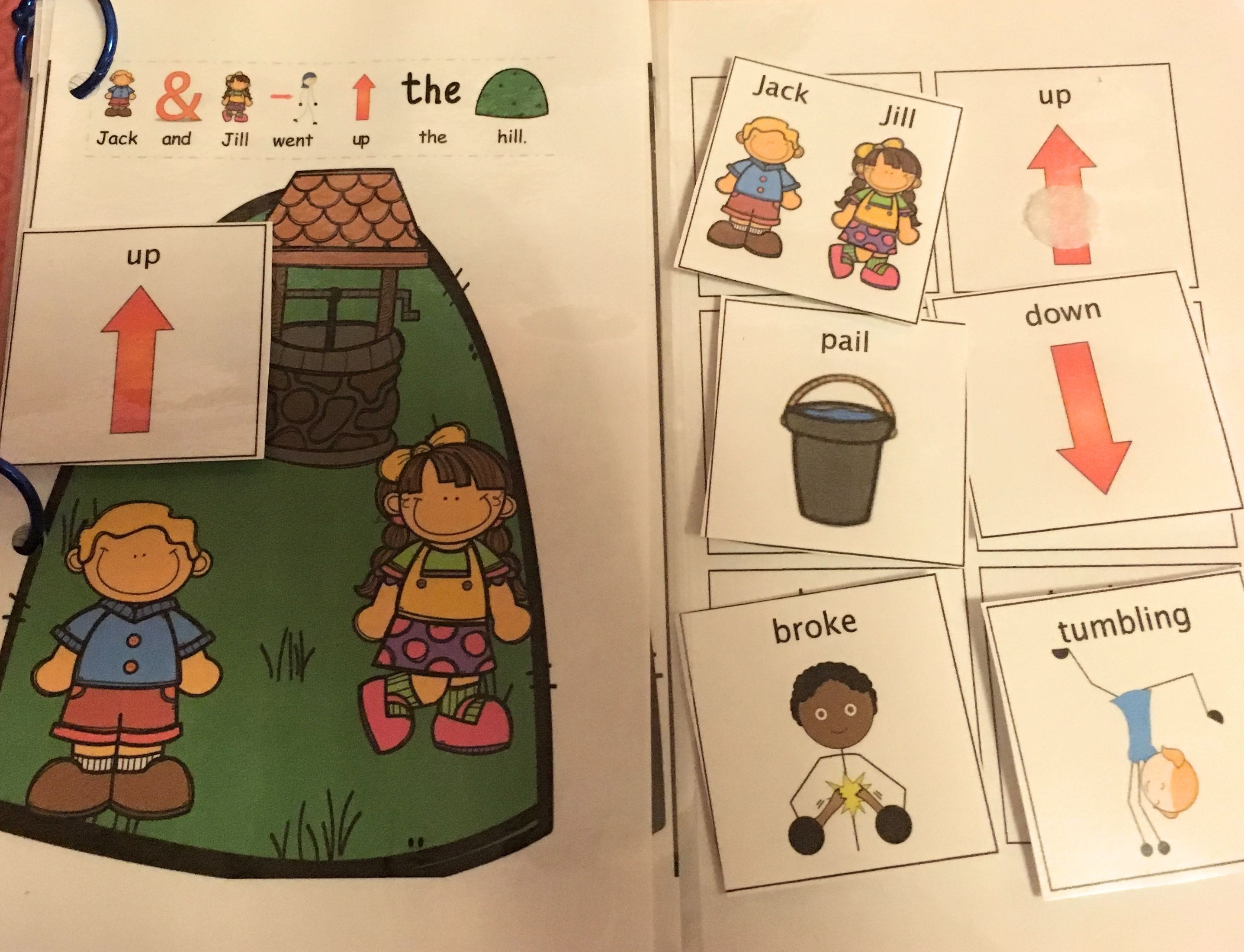Jack And Jill Nursery Rhyme Adapted Sequence
