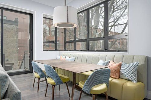 Breakfast nook designed by james thomas chicago