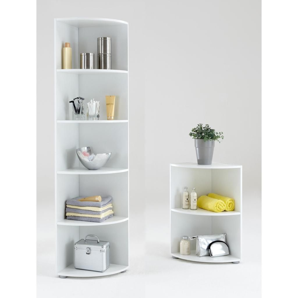 Big Eck Wee Eck Bathroom Kitchen Corner Shelf White Floor Standing Corner Shelves Shelves White Corner Shelf