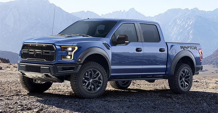 2017 Ford Raptor Supercrew 2017fordraptor Blue 1