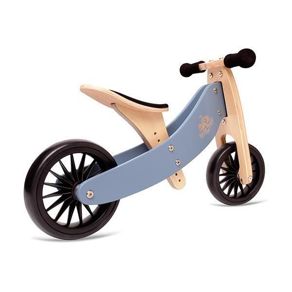 Kinderfeets Tiny Tot Plus Slate Blue In 2020 Balance Bike Tricycle Bike