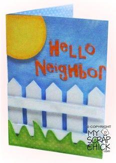 Hello Neighbor Card