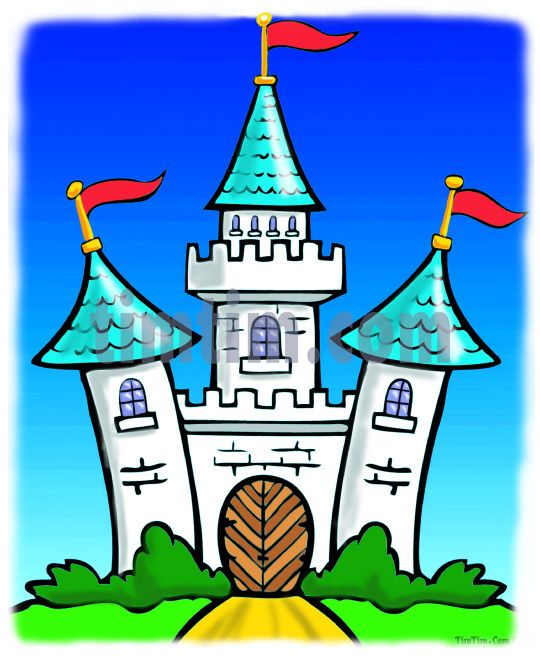 Cartoon Castle | Free online coloring & free online drawing tool ...